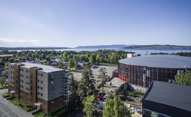 Glassberget, Hamar