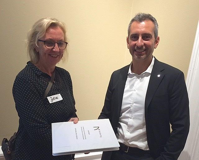 JRS signerer rammeavtale med Norske tog